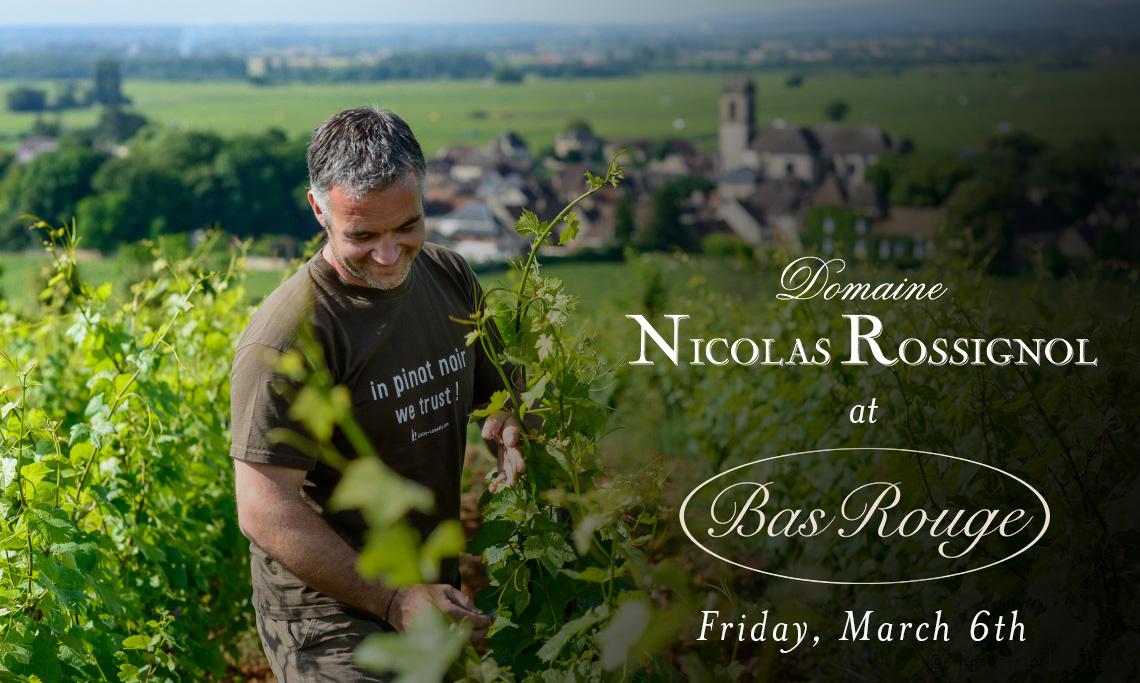 Nicolas Rossignol Wine Dinner